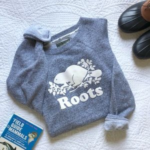 Roots Athletics Canadian Heritage Logo Sweatshirt